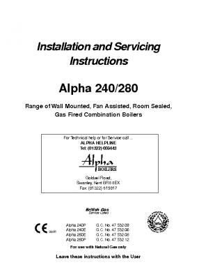 Alpha 240 280 47-532-09