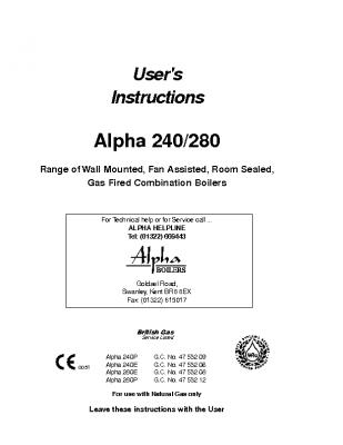 Alpha 240 47-532-09
