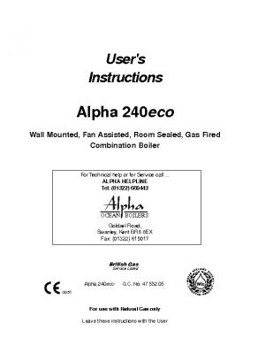 Alpha 240 Eco 47-532-05