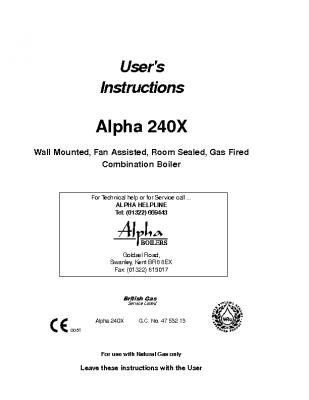 Alpha 240X 47-532-13