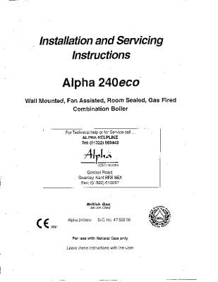 Alpha 240eco 47-532-05