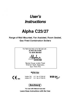 Alpha C23 27 47-532-22