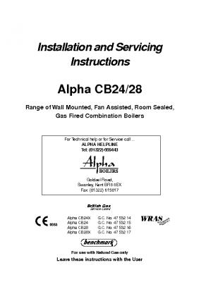 Alpha CB24 28 47-532-14