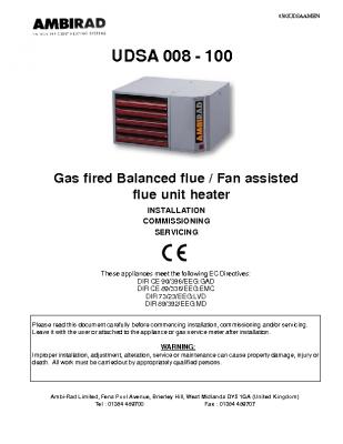 Ambi-Rad UDSA 008-100