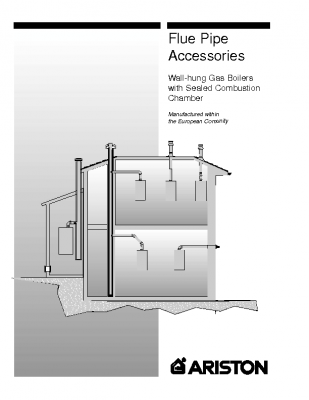 Ariston Flue Pipe Accessories