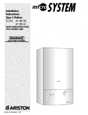 Ariston Micro System 41-116-06