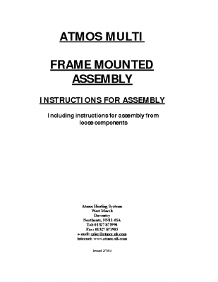 Atmos Multi Frame Mounted Assembly