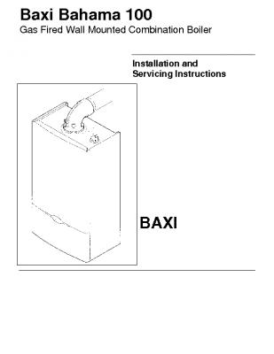 Baxi Bahama 100 47-075-02