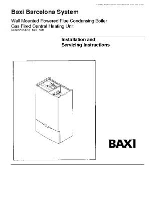 Baxi Barcelona System 41-075-03