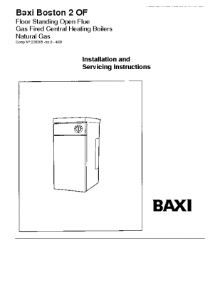 Baxi Boston 2 80 OF 41-077-84