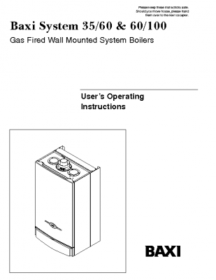 Baxi System 35-60 & 60-100 41-075-18