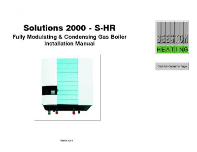 Beeston Solutions 2000 – S-HR