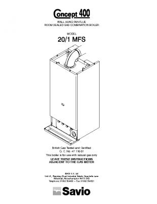 Biasi Concept 400 20-1 MFS 47-116-01