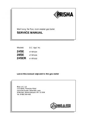 Biasi Prisma 24SE 47-970-04
