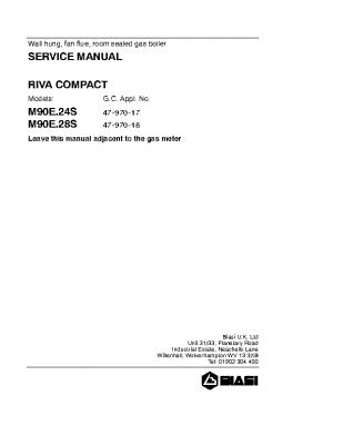 Biasi Riva Compact M90E.28S 47-970-18