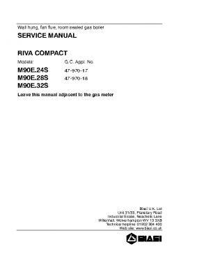 Biasi Riva Compact M90E