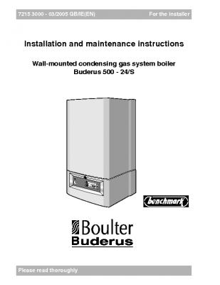 Boulter Buderus 500 – 24S