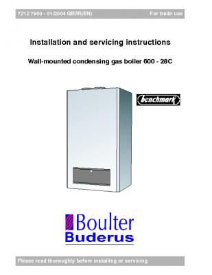 Boulter Buderus 600 – 28C