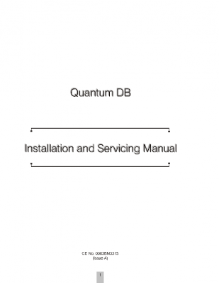 DELUXE Installation and Servicing Manual