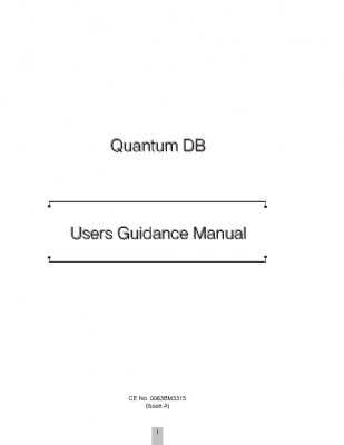 DELUXE Users Guidance Manual