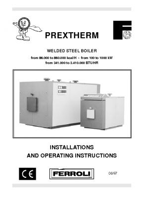 FErroli Prextherm 100