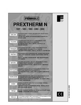 Ferroli Prextherm N 107 – 300