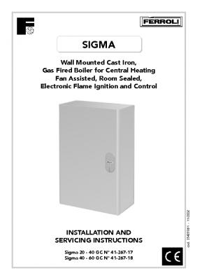 Ferroli Sigma 20 – 40 41-267-17