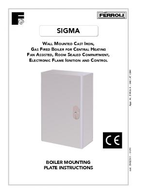 Ferroli Sigma Mounting
