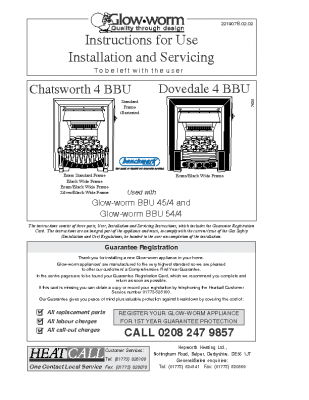 Glow Worm Gas Boilers - Heating Installation Service and Repair