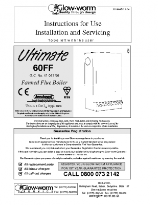 Glow Worm Ultimate 60FF 41-047-56