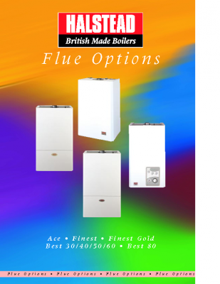 HALSTEAD BOILERS FLUE OPTIONS GUIDE