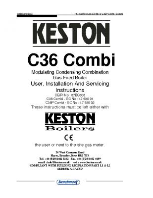 Keston C36 Combi 47-930-01