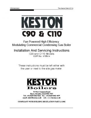 Keston C90 & C110