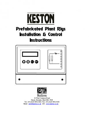 Keston Prefabricated Plant Rigs