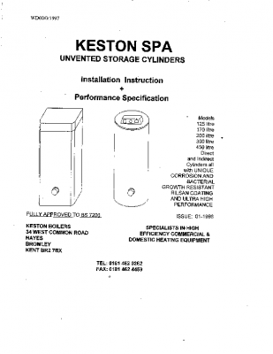 Keston Spa Installation