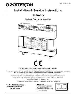Potterton Hallmark 32-230-32