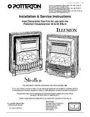 Potterton Housewarmer Presence ASD 37-590-18