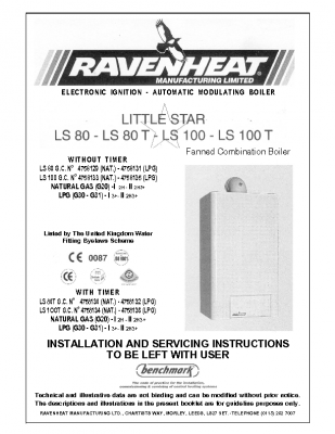 Ravenheat LS 80 47-581-29