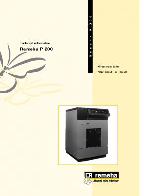 Remeha P 200