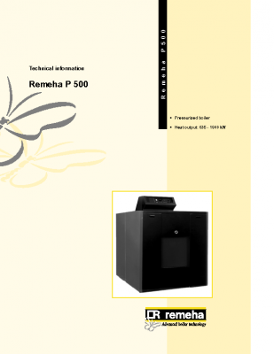 Remeha P 500