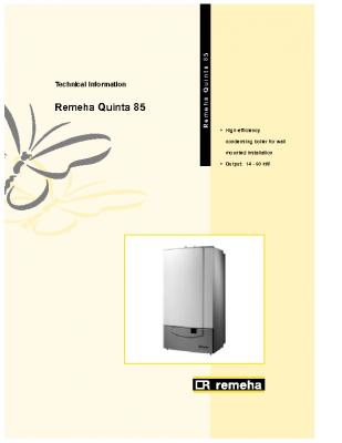 Remeha Quinta 85 14-90kw