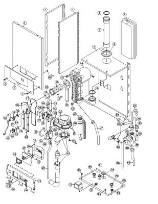 Remeha Selecta Parts