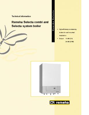 Remeha Selecta System Boiler