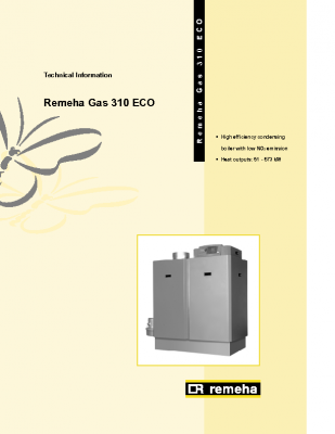 Remeha gas 310 eco