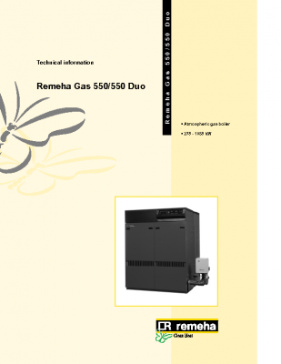 Remeha gas 550-550 duo