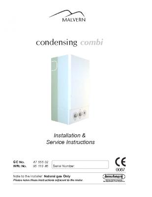 condensing combi